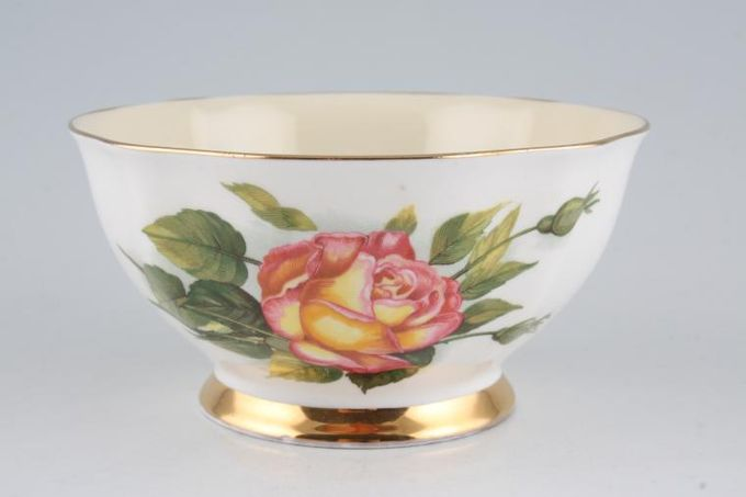 Royal Standard Harry Wheatcroft Roses - Peace Sugar Bowl - Open (Tea) 4 3/4""