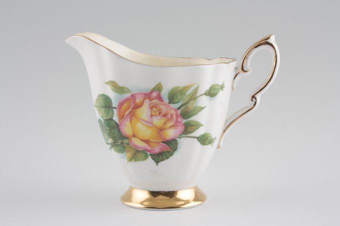 Royal Standard Harry Wheatcroft Roses - Peace Milk Jug 1/2pt