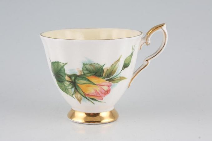 Royal Standard Harry Wheatcroft Roses - Peace Coffee Cup 2 7/8 x 2 1/2""