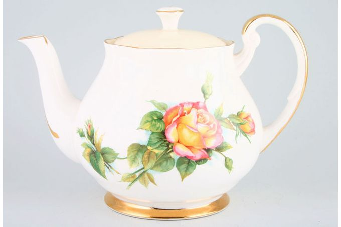 Royal Standard Harry Wheatcroft Roses - Peace Teapot 2 1/2pt