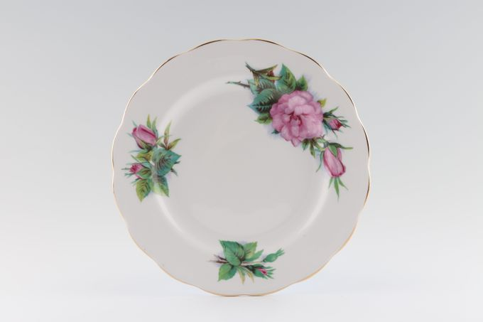"Royal Standard Harry Wheatcroft Roses - Prelude Starter / Salad / Dessert Plate Crown back stamp 8"""