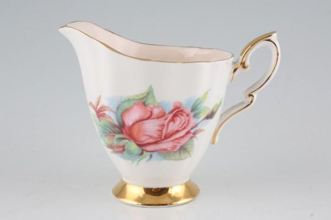Royal Standard Harry Wheatcroft Roses - Rendezvous Milk Jug 1/2pt