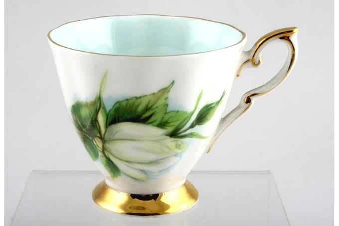 """Royal Standard Harry Wheatcroft Roses - Virgo Coffee Cup Crown back stamp 2 7/8 x 2 3/4"""""""
