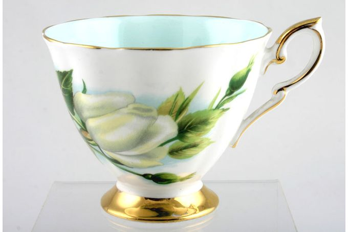 "Royal Standard Harry Wheatcroft Roses - Virgo Teacup Crown back stamp 3 1/2 x 2 7/8"""