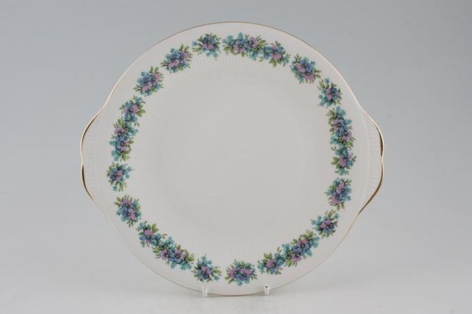 """Royal Standard Carnival Cake Plate round - eared 10 1/4"""""""