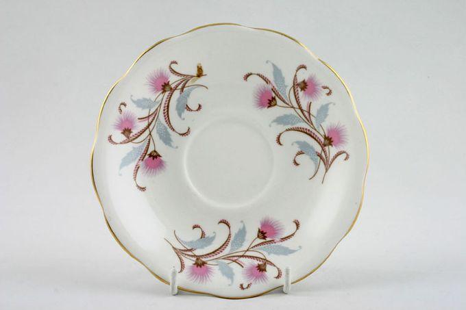 """Royal Standard Caprice - Pink Tea Saucer 5 3/4"""""""