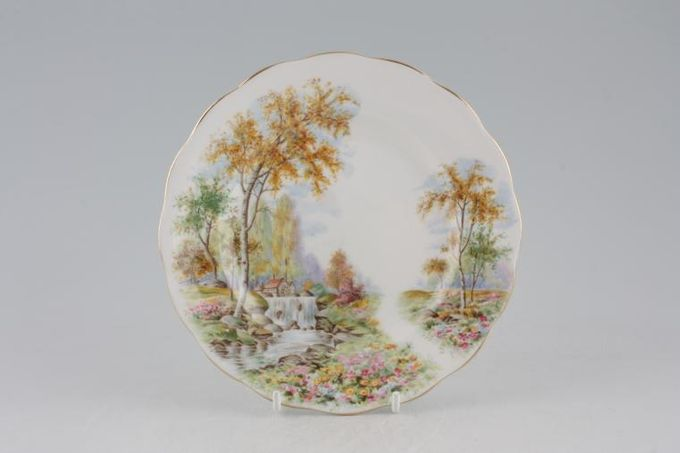 """Royal Standard The Old Mill Stream Tea / Side / Bread & Butter Plate 6 1/4"""""""