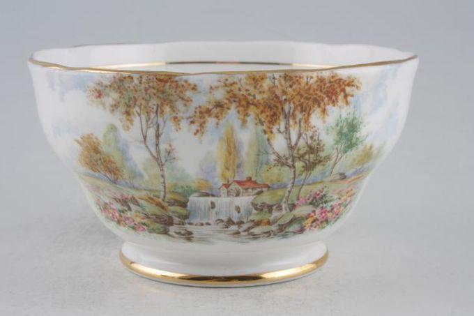 "Royal Standard The Old Mill Stream Sugar Bowl - Open (Tea) 4 5/8"""