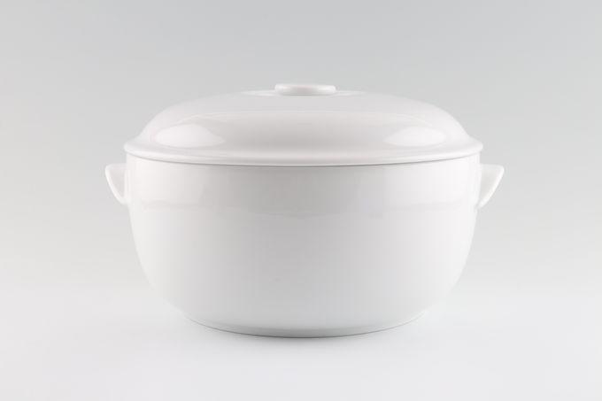 Royal Worcester Classic White - Classics Casserole Dish + Lid 4pt