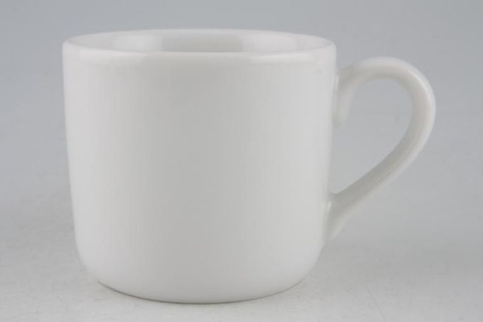 """Royal Worcester Classic White - Classics Coffee/Espresso Can 2 3/8 x 2 1/8"""""""