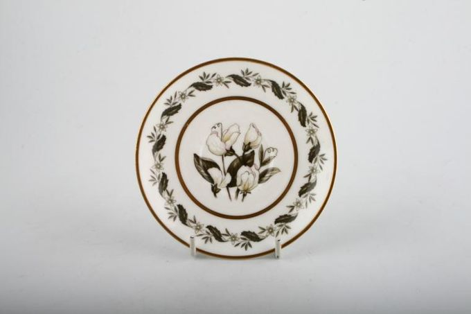 """Royal Worcester Bernina Coffee Saucer For Cups. Pattern in well and round edge 4 3/4"""""""