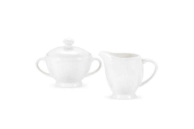 Royal Worcester Serendipity Milk Jug + Sugar Bowl Sugar - 8oz. Cream - 10 oz.