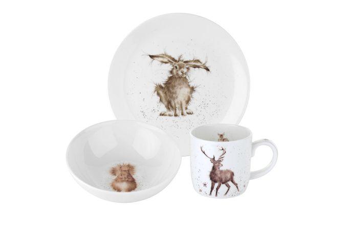 Royal Worcester Wrendale Designs 3 Piece Set Side plate, bowl and mug