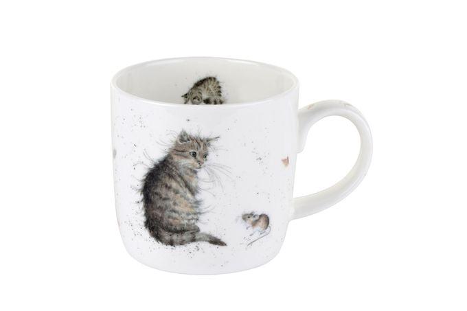 Royal Worcester Wrendale Designs Mug Cat and Mouse (Cat) 0.31l