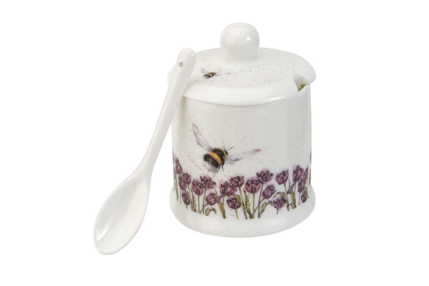 Royal Worcester Wrendale Designs Jam Pot + Lid Bumble Bee 0.11l thumb 2