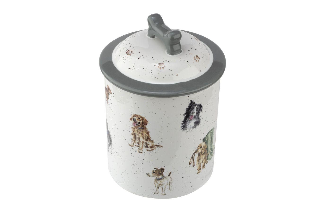 Royal Worcester Wrendale Designs Dog Treat Jar 19cm thumb 2