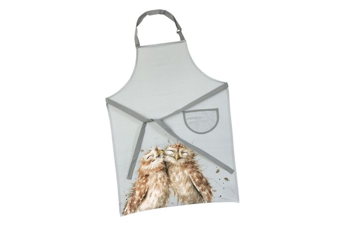 Royal Worcester Wrendale Designs Apron Coloured Collection (Owl)