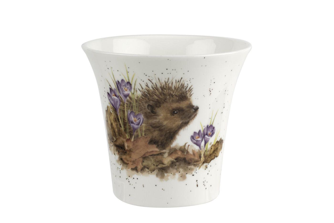 Royal Worcester Wrendale Designs Flower Pot 10cm thumb 1