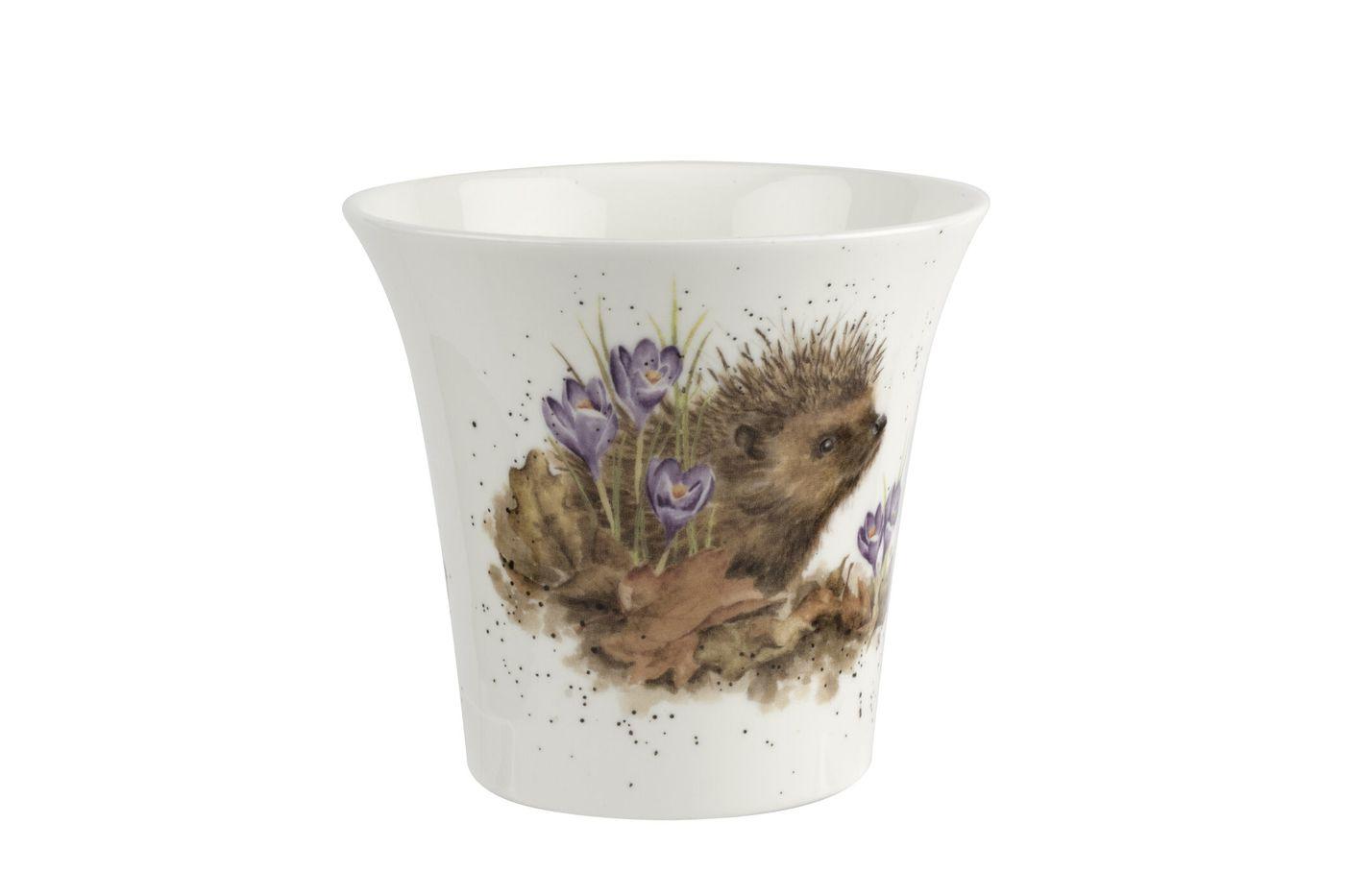 Royal Worcester Wrendale Designs Flower Pot 10cm thumb 2