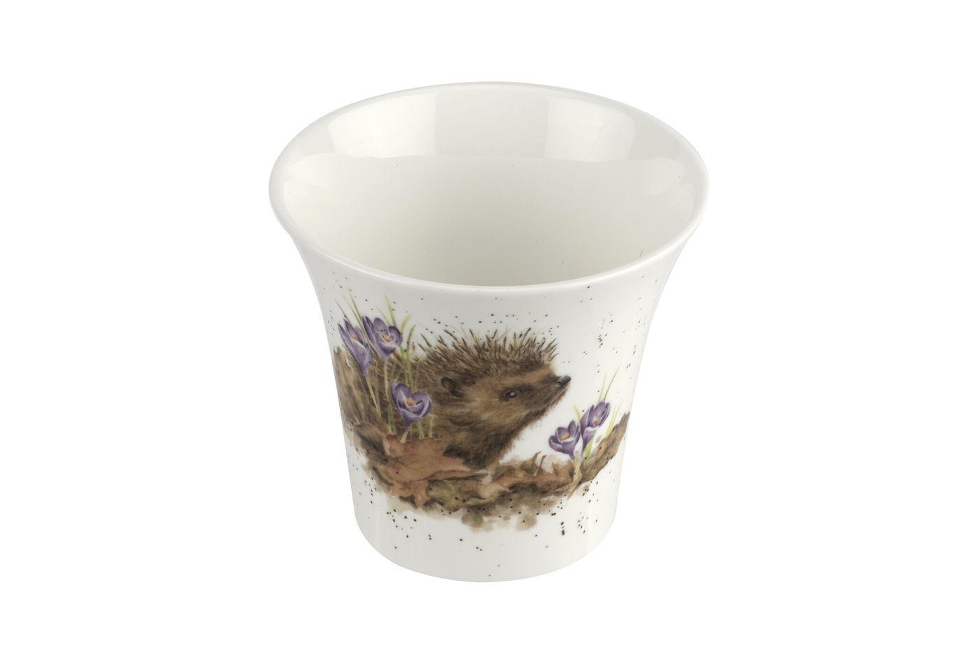 Royal Worcester Wrendale Designs Flower Pot 10cm thumb 3