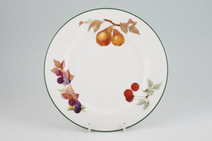 "Royal Worcester Evesham Vale Starter / Salad / Dessert Plate Pears, Cherries, Blackberries 8 1/4"""