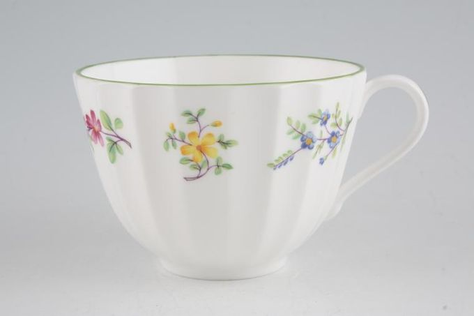 "Royal Worcester Fleuri Teacup 3 1/2 x 2 1/2"""