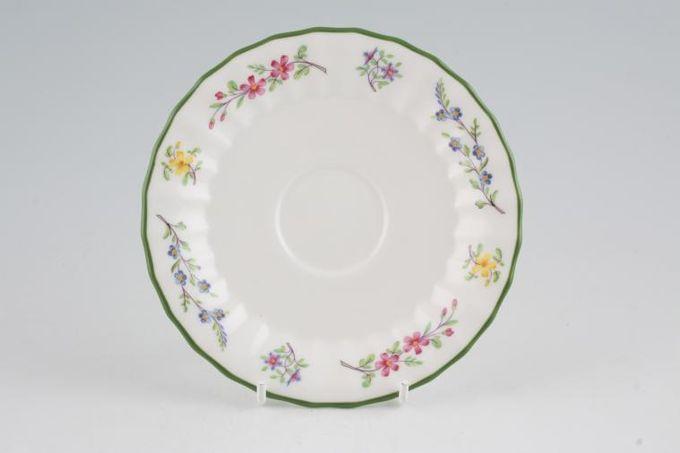 """Royal Worcester Fleuri Tea Saucer 5 3/4"""""""
