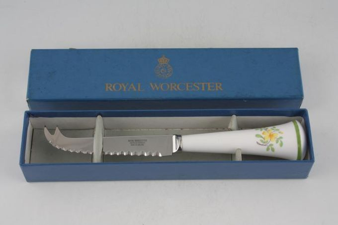 Royal Worcester Fleuri Cheese Knife Boxed
