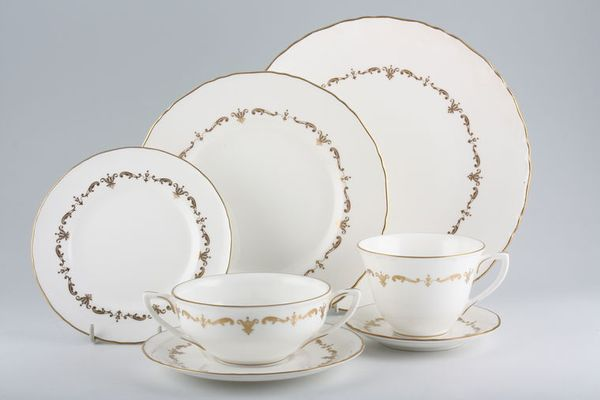 Royal Worcester Gold Chantilly