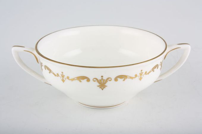 Royal Worcester Gold Chantilly Soup Cup 4 3/8 x 2""