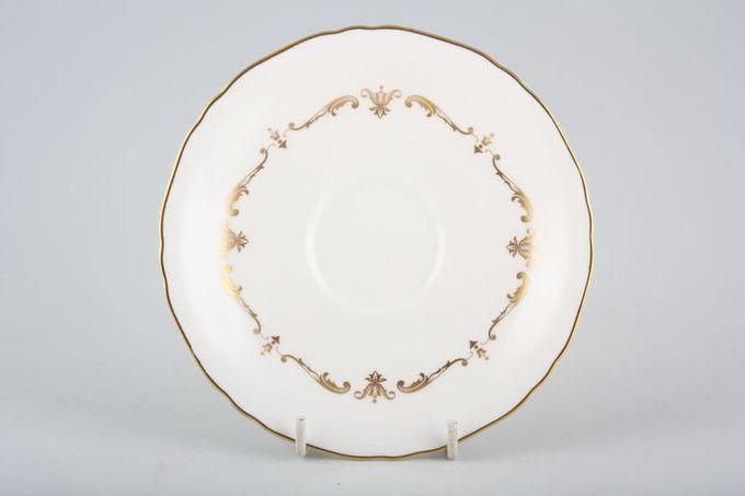 """Royal Worcester Gold Chantilly Tea Saucer 5 3/4"""""""