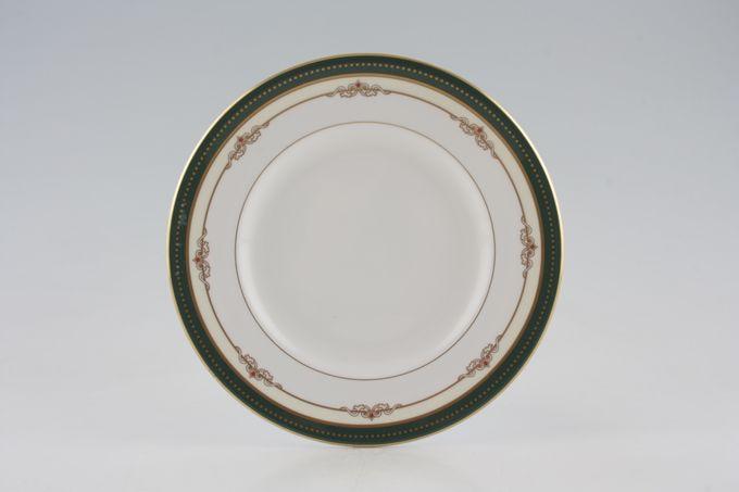"""Royal Worcester Ambassador - Green Starter / Salad / Dessert Plate 8"""""""