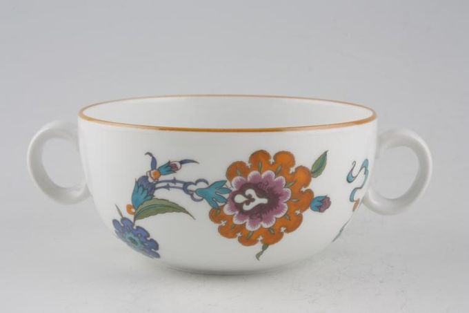 Royal Worcester Palmyra Soup Cup 2 handles