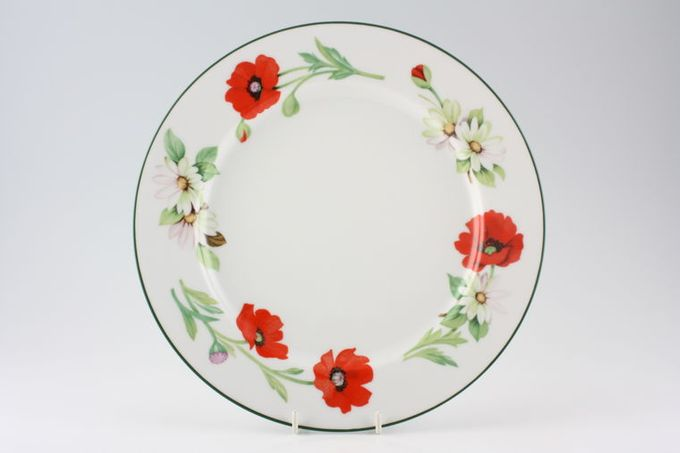 """Royal Worcester Poppies Dinner Plate 10 1/8"""""""