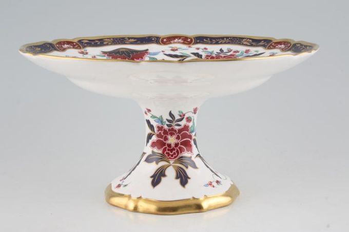 """Royal Worcester Prince Regent Comport shallow dish on pedestal 9 1/2"""""""