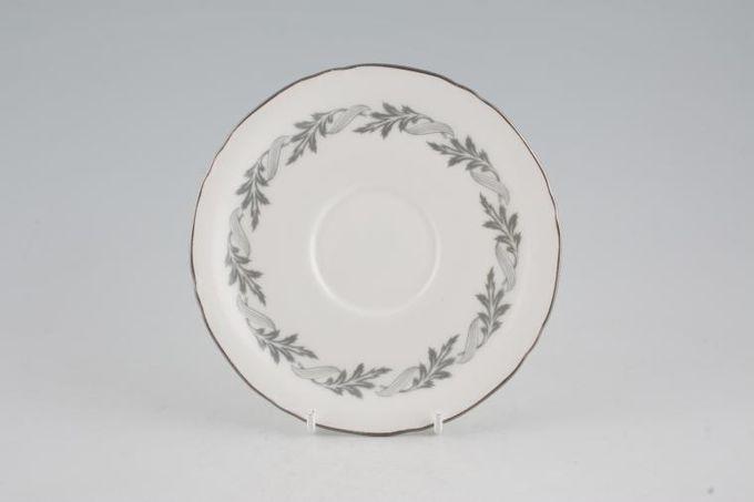 "Royal Worcester Princess Anne Soup Cup Saucer 6 1/8"""