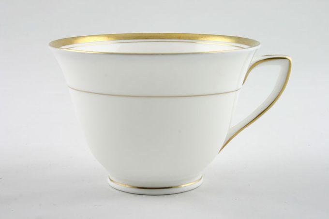 "Royal Worcester Viceroy - Gold Teacup Gold Rim On Foot, Shape A 3 3/4 x 2 5/8"""