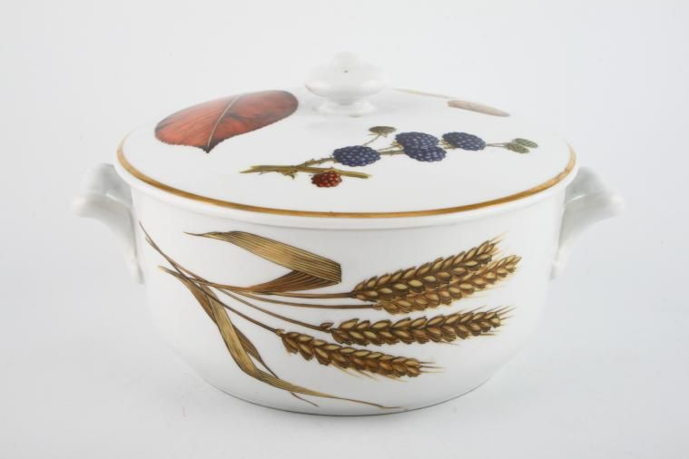 Royal Worcester - Wild Harvest - Gold Rim & Royal Worcester Wild Harvest - Gold Rim | 13 lines in stock
