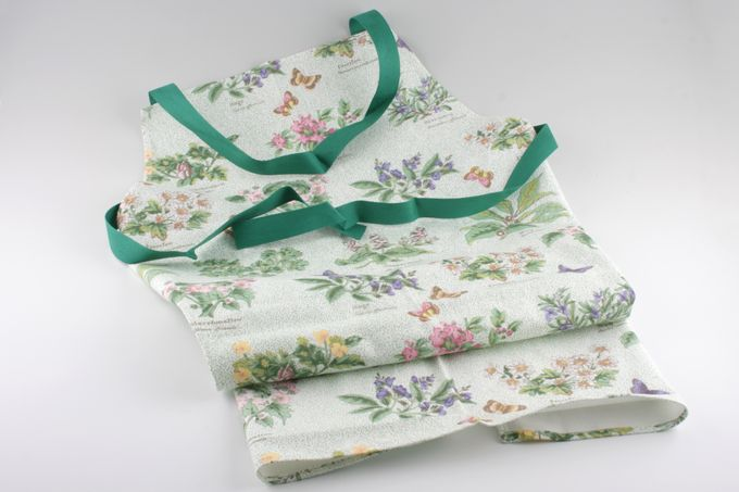Royal Worcester Worcester Herbs Apron