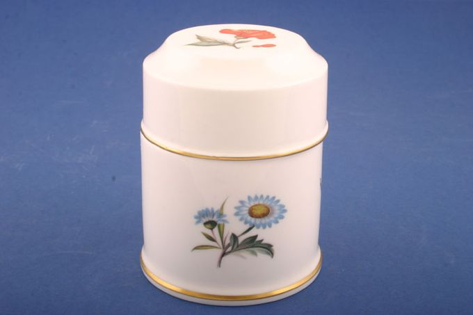 """Royal Worcester Alpine Flowers Candy box 4"""""""