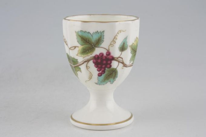 Royal Worcester Bacchanal - Cream Egg Cup Footed