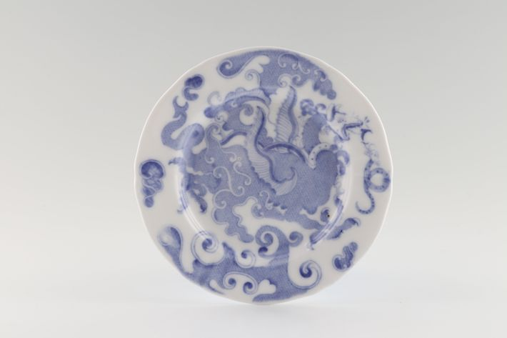 Royal Worcester Blue Dragon - No Gold Edge