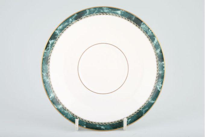 """Royal Worcester Medici - Green Tea Saucer 5 7/8"""""""
