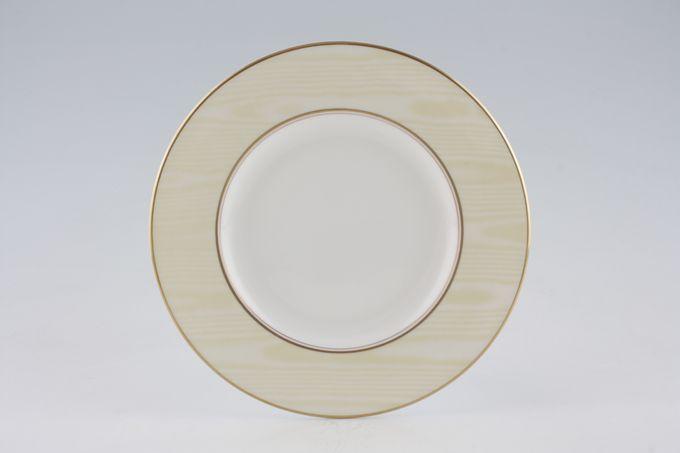 "Royal Worcester Moire Silk - Lemon Starter / Salad / Dessert Plate 8"""