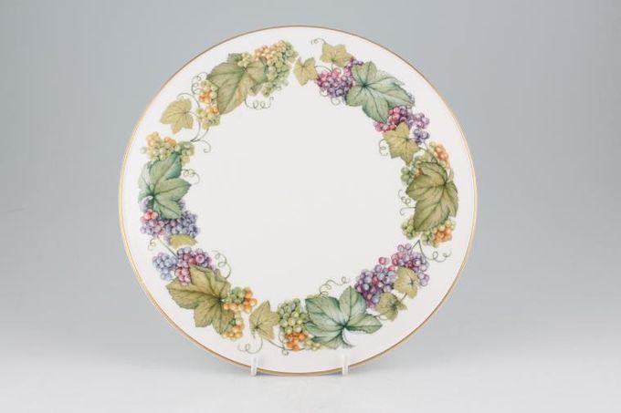 "Royal Worcester Vine Harvest - Plain Gateau Plate 11"""