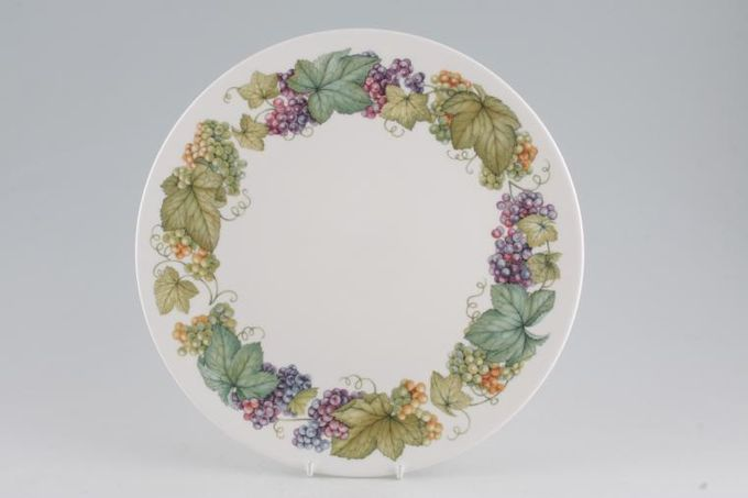 Royal Worcester Vine Harvest - Plain Dinner Plate 10 1/2""