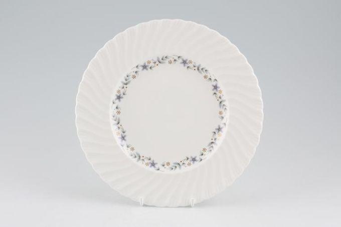"""Royal Worcester Petite Fleur - Grey and Gold Starter / Salad / Dessert Plate 8"""""""