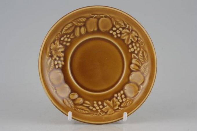 Royal Worcester Orchard - Gold Soup Cup Saucer 6 1/2""