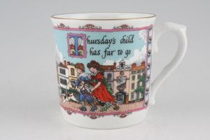 Replacement Royal Worcester - Days Of The Week - Modern