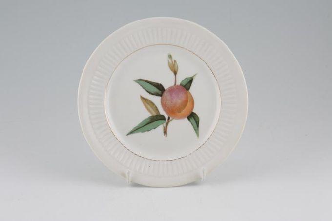 "Royal Worcester Evesham - Ribbed - Gold edge Tea / Side / Bread & Butter Plate 6 1/2"""